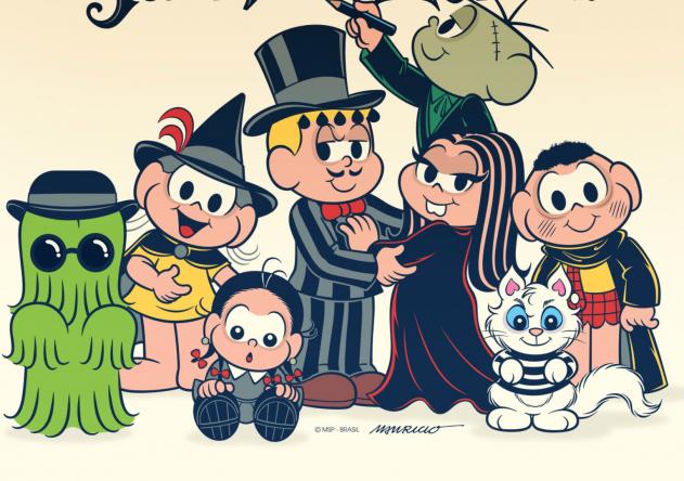 """Versão Halloween de """"A Turma da Mônica"""" (Divulgação/MSP)"""