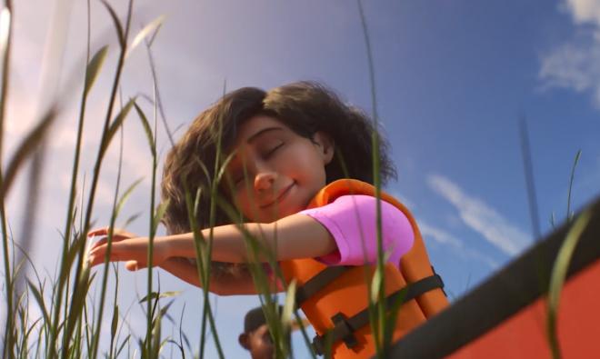 """Cena do trailer oficial de lançamento de """"Sparkshorts"""" (Reprodução)"""