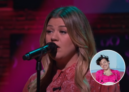 "Kelly Clarkson arrasa cantando ""Watermelon Sugar"", de Harry Styles"