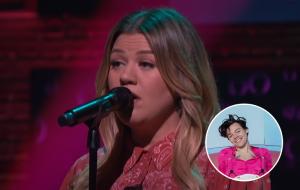 "Kelly Clarkson arrasa cantando ""Watermelon Sugar"", de Harry Styles"