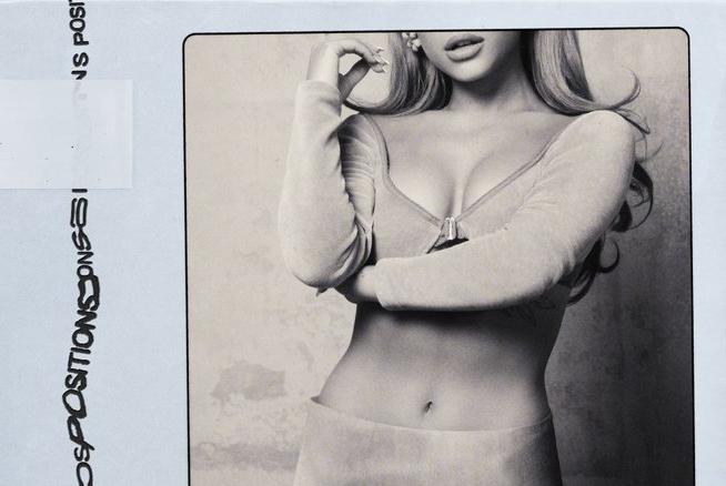 """Ariana Grande na capa de """"Positions"""" (Divulgação)"""