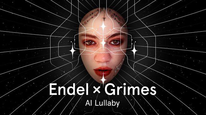 """Capa de """"Al Lullaby"""" da Grimes (Divulgação)"""