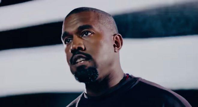 Kanye em vídeo de campanha presidencial (Reprodução)