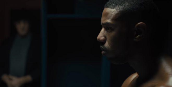 Michael B. Jordan em cena de Creed II (Reprodução)