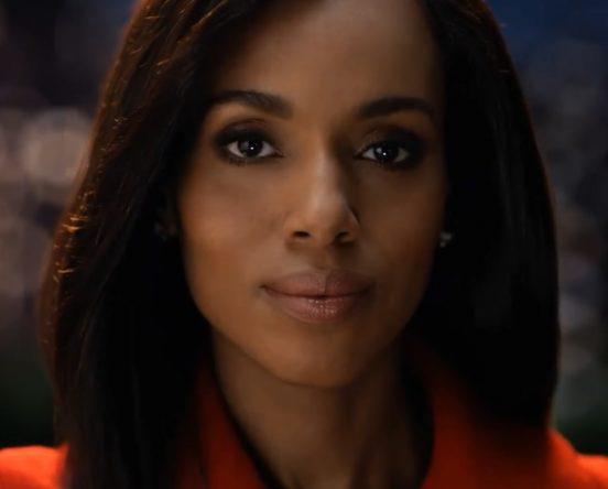 """Kerry Washington em trailer de """"Scandal"""" (Reprodução)"""