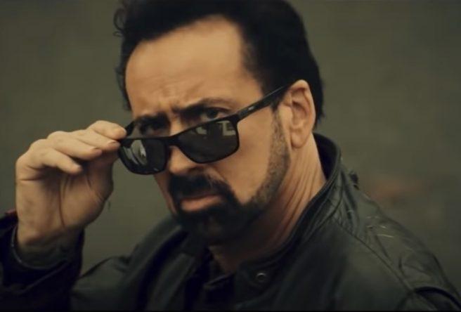 """Nicolas Cage em trailer de """"Willy's Wonderland"""" (Reprodução)"""