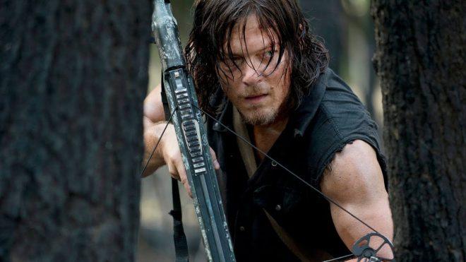 """Norman Reedus como Daryl Dixon em """"The Walking Dead"""" (Reprodução)"""