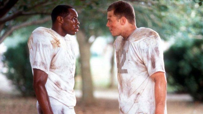 """Wood Harris e Ryan Hurst em """"Duelo de Titãs"""" (Reprodução)"""