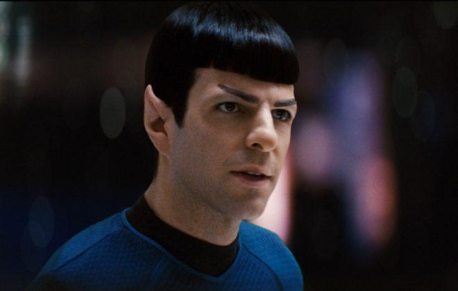 """Zachary Quinto em """"Star Trek"""" (Reprodução)"""