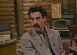 """Sacha Baron Cohen lida com a pandemia de Covid-19 no trailer de """"Borat 2"""""""
