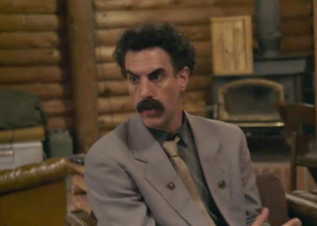 """Sacha Baron Cohen na sequência de """"Borat"""" (Reprodução)"""