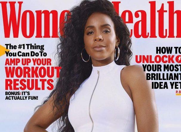 Kelly Rowland na capa da edição de novembro da Women's Health (Divulgação)