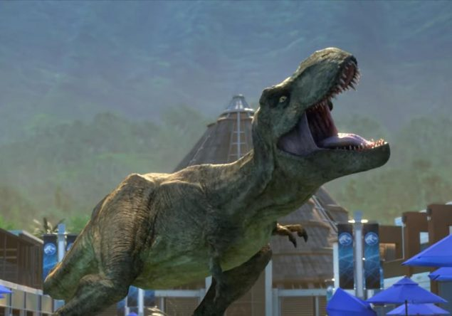 """Cena de """"Jurassic World: Acampamento Jurássico"""" (Reprodução)"""