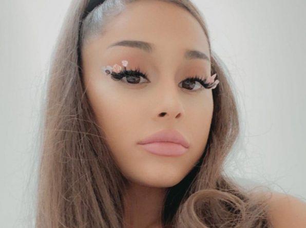 Ariana Grande em foto publicada no Instagram (Reprodução)