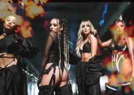 """Little Mix dança entre o fogo em novo teaser do clipe """"Sweet Melody"""""""