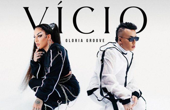 """Gloria Groove na capa do single """"Vício"""" (Reprodução)"""