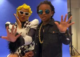 Ciara e o filho Future se vestem de Cardi B e Offset para o Halloween