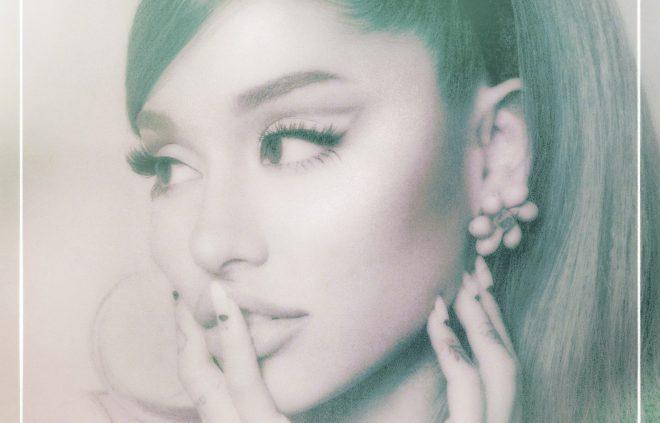 """Ariana Grande na capa do álbum """"Positions"""" (Divulgação)"""