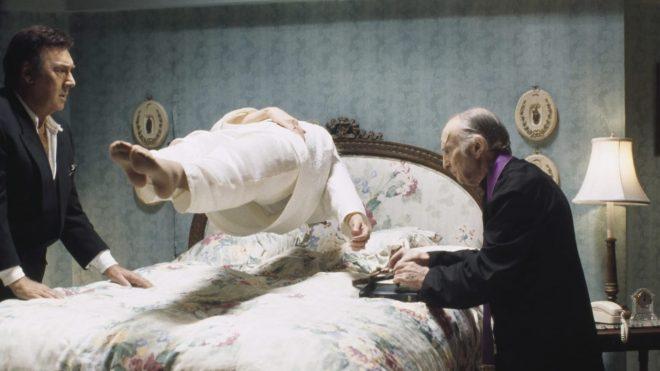 """Cena de """"O Exorcista"""" de 1973 (Reprodução)"""