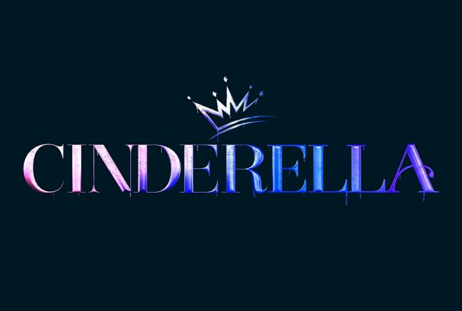 """Logo oficial do filme """"Cinderella"""" (Divulgação)"""