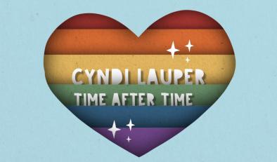 """Imagem do lyric video de """"Time After Time"""" (Reprodução)"""