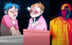 """Gorillaz, Elton John e 6LACK se unem na faixa """"The Pink Phantom"""", que já vem com clipe"""