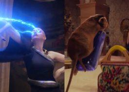 """""""Convenção das Bruxas"""": novo teaser mostra poderes da Grande Bruxa e fuga dos ratinhos"""