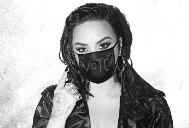 """Demi Lovato em ensaio promocional de """"Commander in Chief"""" (Divulgação)"""