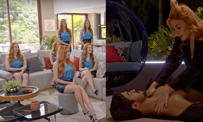 """Cenas de teaser de """"Game dos Clones"""" (Reprodução)"""
