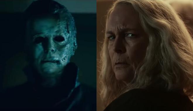 """Cena de teaser de """"Halloween Kills"""" (Reprodução)"""