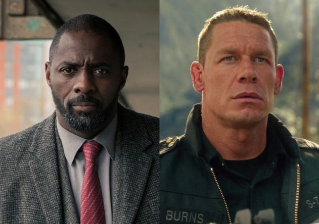 """Idris Elba em """"Luther"""" e John Cena em """"Bumblebee"""" (Reprodução)"""