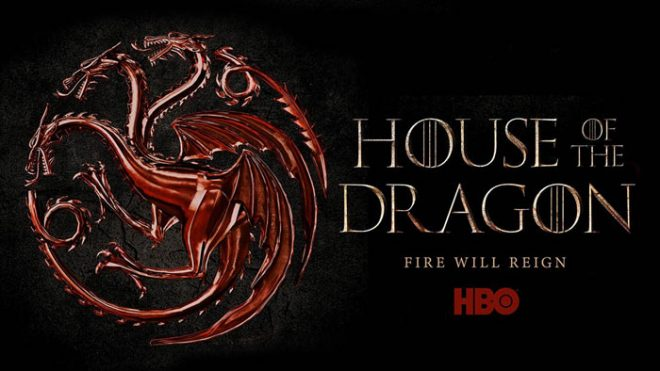 "Cartaz oficial de ""House of the Dragon"" (Divulgação)"