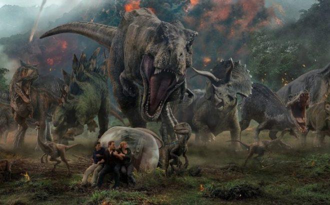 """Cena de """"Jurassic World 2"""" (Reprodução)"""