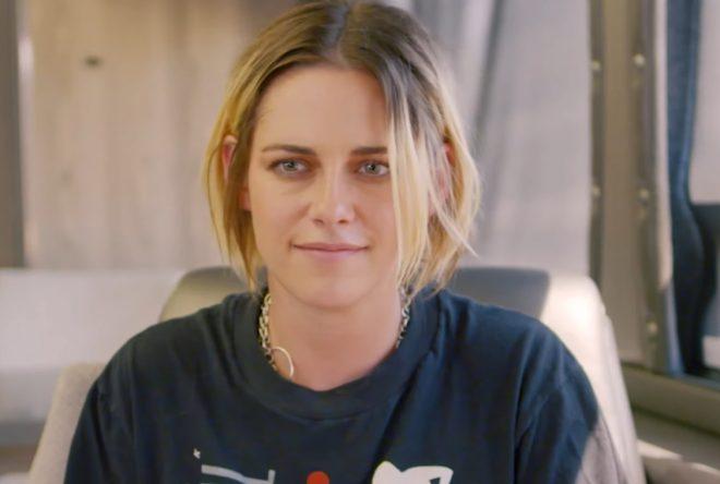 Kristen Stewart em entrevista (Reprodução)
