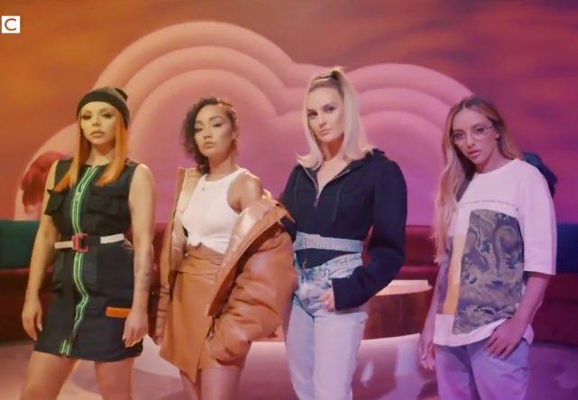 """Little Mix no teaser de """"The Search"""", da BBC (Reprodução)"""