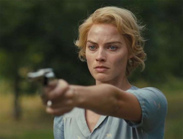 """Margot Robbie em cena de """"Dreamland"""" (Reprodução)"""