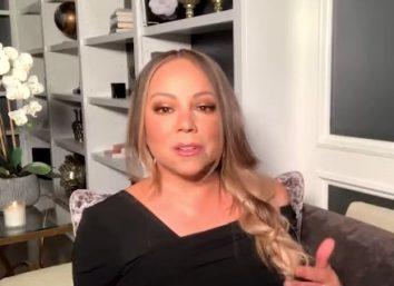 """Mariah Carey em entrevista ao """"What Happens Live"""" (Reprodução)"""