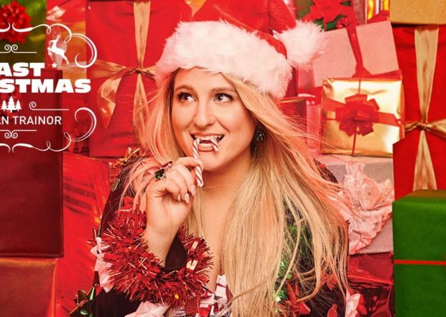 """Capa do álbum """"A Very Trainor Christmas"""" (Divulgação)"""