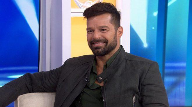 Ricky Martin em entrevista (Reprodução)