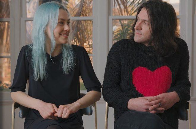 Phoebe Bridgers e Conor Oberst, do Bright Eyes, em entrevista à Billboard (Reprodução)