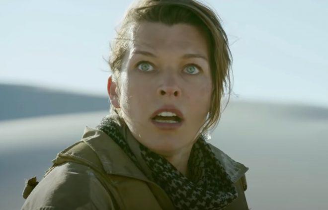 "Milla Jovovich em ""Monster Hunter"" (Reprodução)"