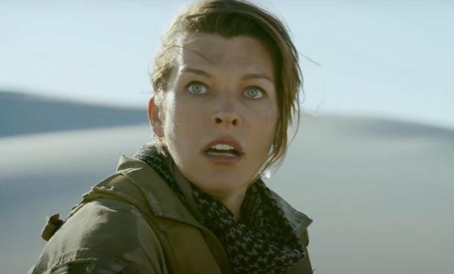 Milla Jovovich em teaser (Reprodução)