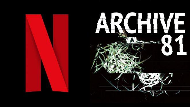 """Logo da Netflix (Divulgação)/Logo do """"Archive 81"""" (Divulgação)"""