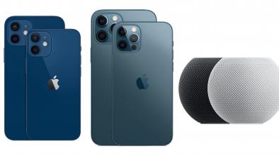 iPhone 12, iPhone 12 Mini, Pro e Pro Max e HomePod Mini (Divulgação)