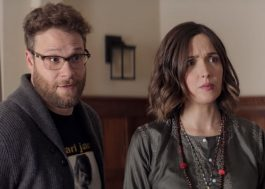 Seth Rogen e Rose Byrne vão estrelar nova série de comédia da Apple