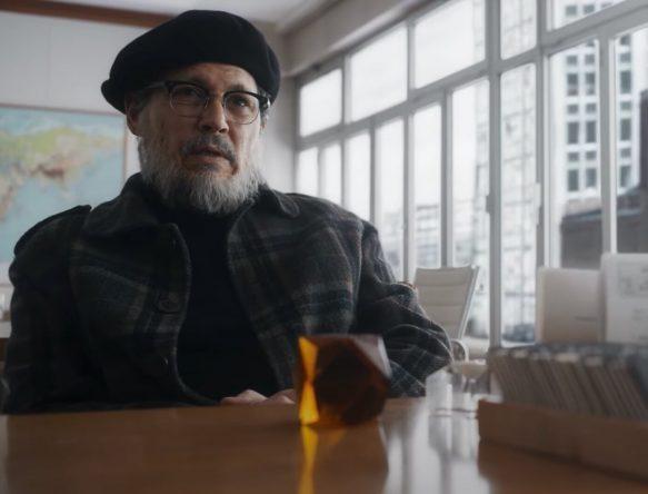 """Johnny Depp em trailer de """"Minamata"""" (Reprodução)"""