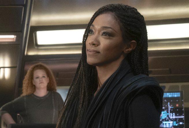 """Sonequa Martin-Green em cena de """"Star Trek: Discovery"""" (Reprodução)"""