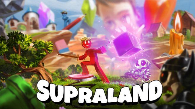 """Pôster do jogo """"Supraland"""" (Divulgação)"""