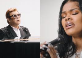 "Teyana Taylor lança clipe de ""Lose Each Other"" com participação de Elton John"