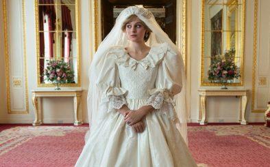 """Emma Corrin como Princesa Diana em """"The Crown"""" (Divulgação)"""
